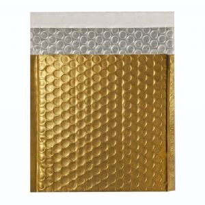 Metallic Gold Foil Bubble Bags (Range of Sizes and Quantities)